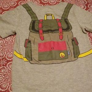 Back Pack T-Shirt & Short set